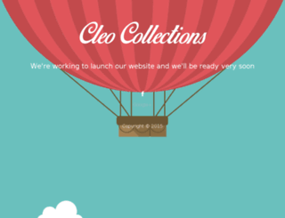 cleocollections.com screenshot