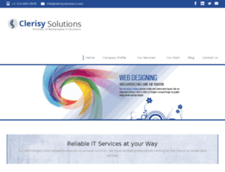 clerisysolutions.us screenshot
