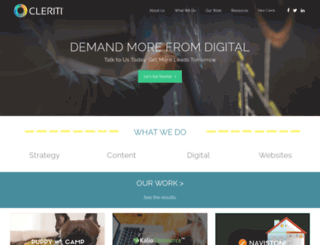 cleriti.com screenshot