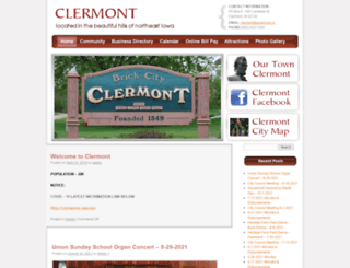 clermontia.org screenshot