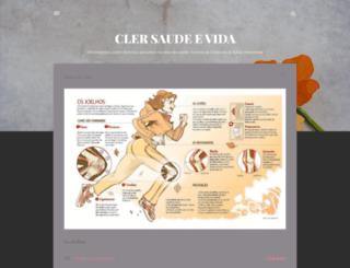 clersaudeevida.blogspot.com.br screenshot
