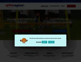 cles_tir_a_larc.sportsregions.fr screenshot