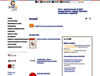 clesco.univ-tlse2.fr screenshot
