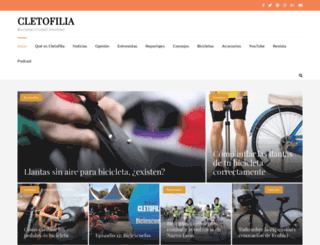 cletofilia.com screenshot