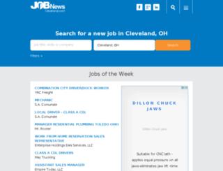 cleveland.jobnewsusa.com screenshot