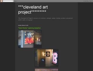 clevelandartproject.blogspot.com screenshot
