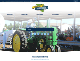 clevelandcountyfair.org screenshot