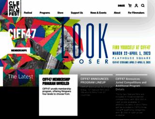 clevelandfilm.org screenshot