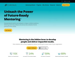 clevelandhigh.chronus.com screenshot