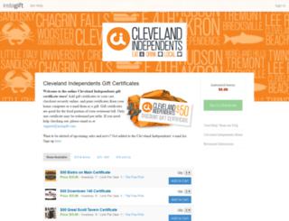 clevelandindependents.instagift.com screenshot