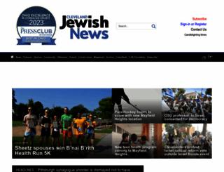 clevelandjewishnews.com screenshot
