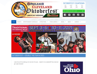 clevelandoktoberfest.com screenshot