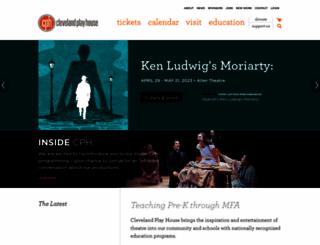 clevelandplayhouse.net screenshot