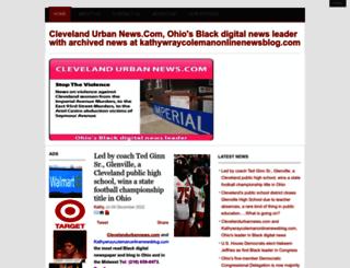 clevelandurbannews.com screenshot