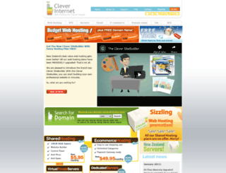 cleverinternet.co.nz screenshot