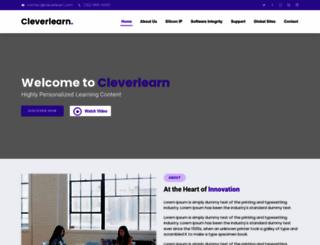 cleverlearn.com screenshot
