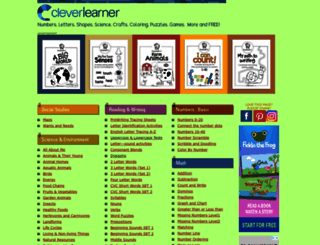cleverlearner.com screenshot