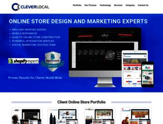 cleverlocal.com.au screenshot