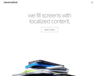 clevermethod.com screenshot