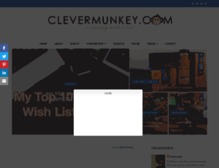 clevermunkey.blogspot.com screenshot