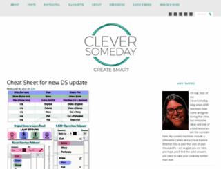 cleversomeday.com screenshot