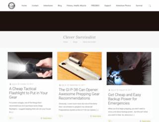 cleversurvivalist.com screenshot