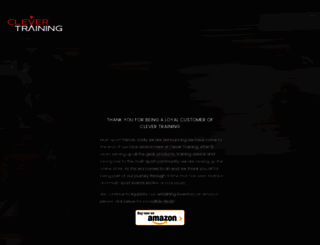 clevertraining.com screenshot