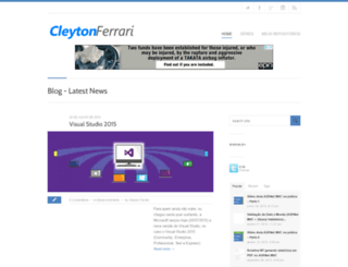 cleytonferrari.com screenshot