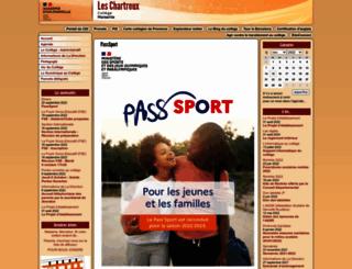 clg-chartreux.ac-aix-marseille.fr screenshot