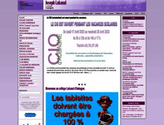 clg-lakanal.ac-aix-marseille.fr screenshot