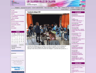 clg-loucalavoun.ac-aix-marseille.fr screenshot