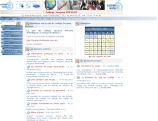 clg-prevert-44.ac-nantes.fr screenshot
