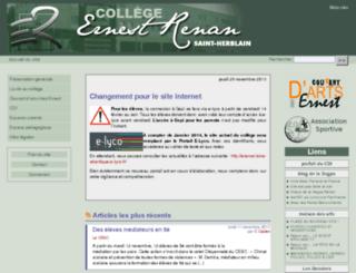 clg-renan-44.ac-nantes.fr screenshot