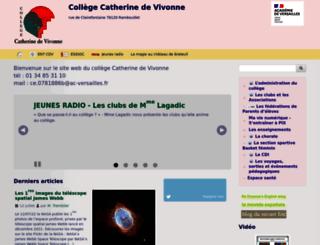 clg-vivonne-rambouillet.ac-versailles.fr screenshot