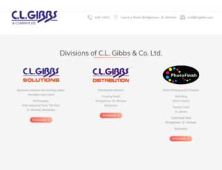 clgibbs.com screenshot