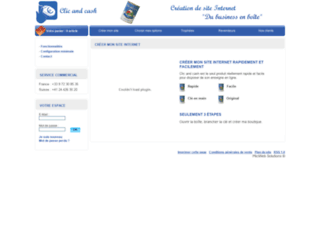 clic-and-cash.com screenshot