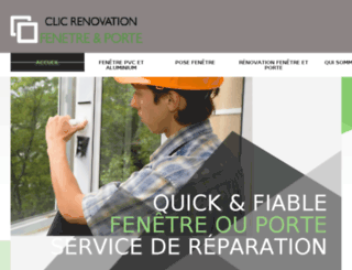clic-renovation-fenetre.fr screenshot