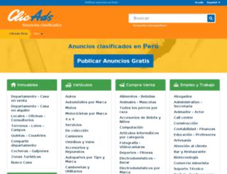 clicads.com.pe screenshot