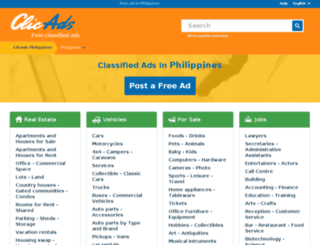 clicads.com.ph screenshot