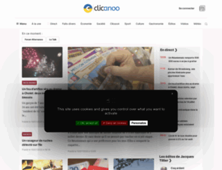 clicanoo.re screenshot