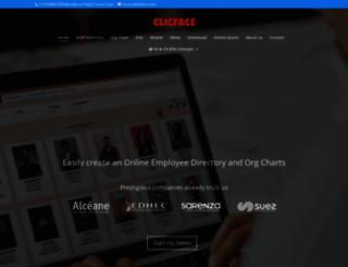 clicface.com screenshot