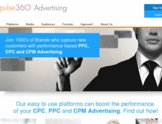 click.pulse360.com screenshot