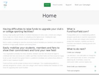 click2fund.org screenshot