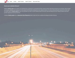 click2locate.com screenshot