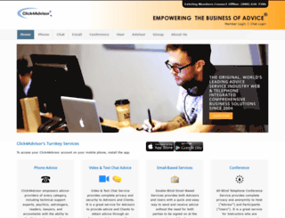 click4advisor.com screenshot