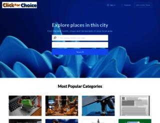 click4choice.co.uk screenshot