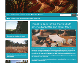 click4holidayhomes.com screenshot