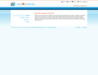 click4hotel.eu screenshot