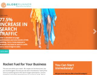 clickable.globerunner.com screenshot