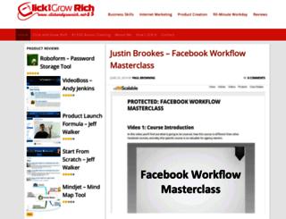 clickandgrowrich.net screenshot